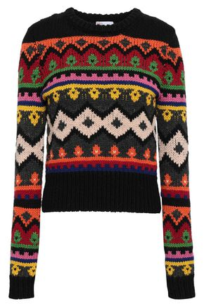 REDValentino Jacquard-knit sweater
