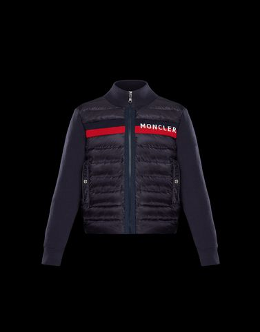 Moncler Kids 4-6 Years - Boy Man: CARDIGAN