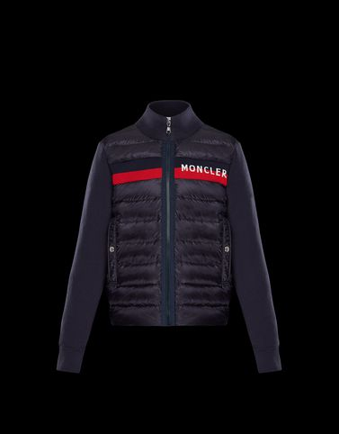 MONCLER CARDIGAN - Lined sweatshirts - men