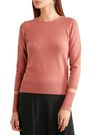 DKNY Cutout cotton-blend sweater