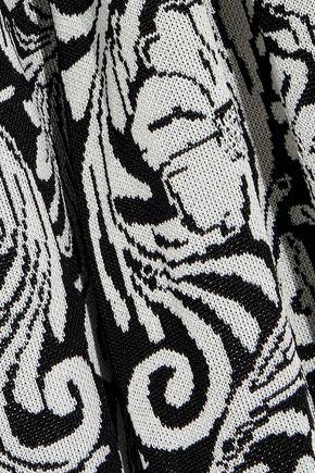 BALMAIN Jacquard-knit cardigan