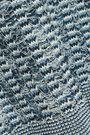 BALMAIN Button-detailed metallic crochet-knit sweater