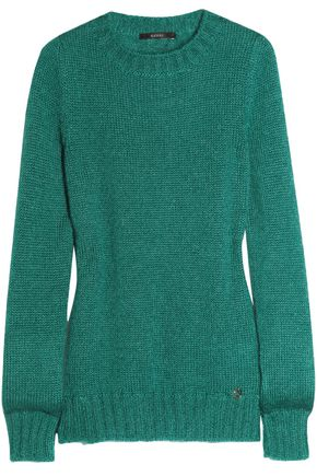GUCCI Mohair and silk-blend sweater