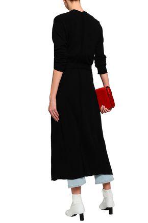 MAJE Marina wool and cashmere-blend cardigan