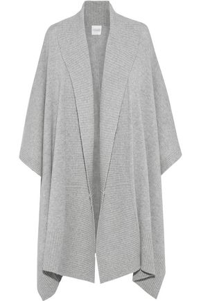 MADELEINE THOMPSON Mélange wool and cashmere-blend cardigan