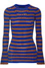 BY MALENE BIRGER Metallic striped ribbed-knit top
