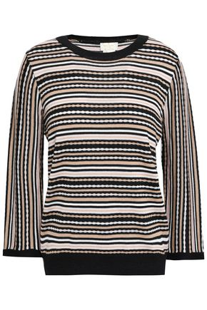 KATE SPADE New York Striped knitted sweater
