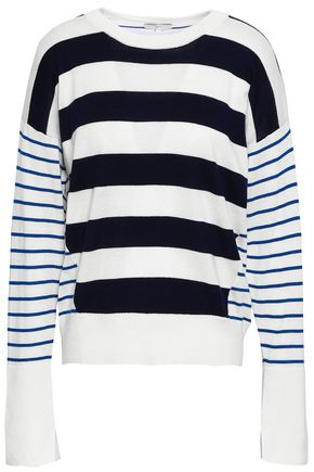 JOIE Striped cotton sweater