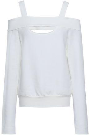 BAILEY 44 Cold-shoulder modal-blend sweatshirt