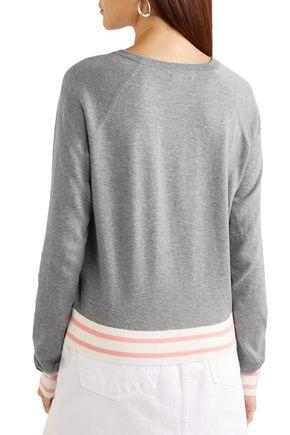 EQUIPMENT Axel mélange cotton-blend sweater