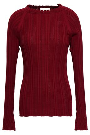 3.1 PHILLIP LIM Ribbed silk and cotton-blend sweater