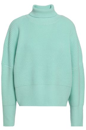PAPER London Cecilia ribbed-knit wool turtleneck sweater