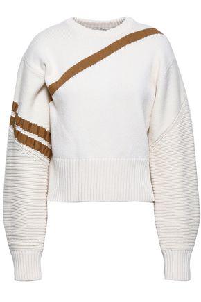 3.1 PHILLIP LIM Intarsia cotton-blend sweater