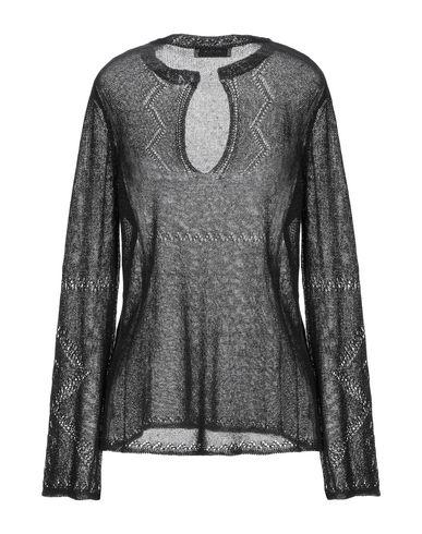 Фото 2 - Женский свитер ALPHA STUDIO черного цвета