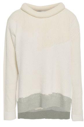 3.1 PHILLIP LIM Cotton-blend jacquard sweater