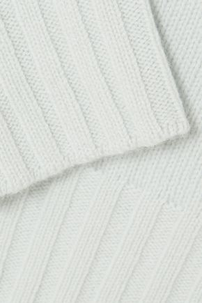 VINCE. One-shoulder wool and cashmere-blend sweater