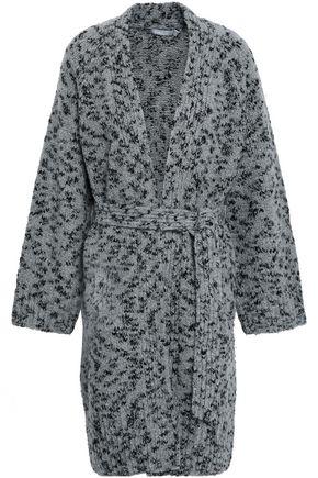 VINCE. Marled wool-blend cardigan