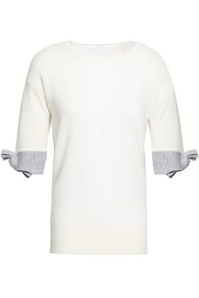 DUFFY Knotted cashmere top