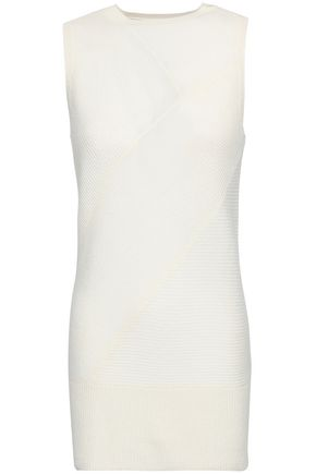 DUFFY Ribbed cashmere vest