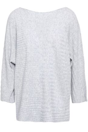 DUFFY リブ編み カシミヤ セーター