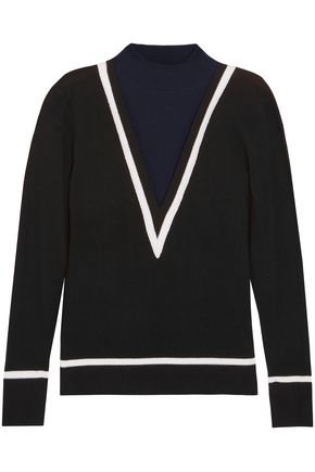 VICTOR GLEMAUD Cotton and cashmere-blend sweater