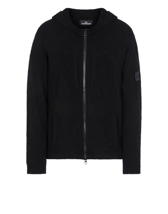 Cardigan 505A5 KIMONO ZIP HOODIE (COTTON CREPE) STONE ISLAND SHADOW PROJECT - 0
