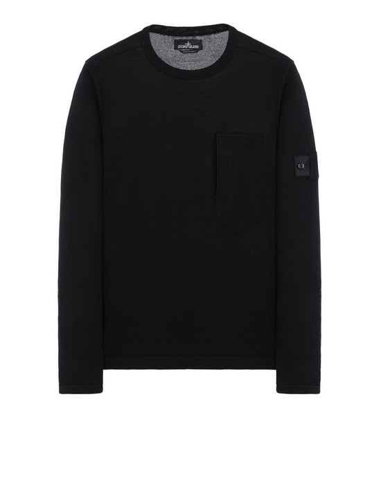 STONE ISLAND SHADOW PROJECT Sweater 503A2 LS T-SHIRT (MERCERISED COTTON)