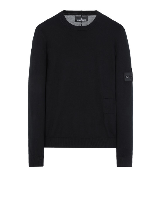 STONE ISLAND SHADOW PROJECT Jersey 501A1 CREWNECK (SOFT COTTON)