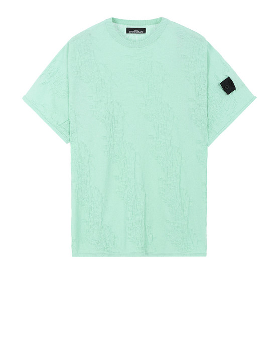 STONE ISLAND SHADOW PROJECT Short sleeve sweater 506A5 KIMONO T-SHIRT (COTTON CREPE)
