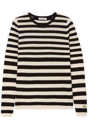 BELLA FREUD Skinny Minnie striped wool and cashmere-blend sweater