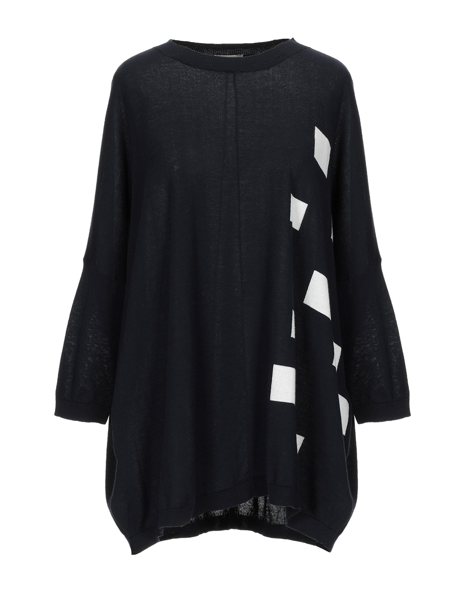 KNIT KNIT Свитер pearl embellished drop shoulder heathered knit pullover