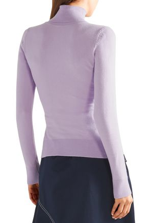 JOOSTRICOT Cotton-blend turtleneck sweater