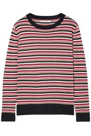CHINTI AND PARKER Metallic striped wool-blend sweater