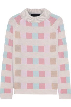 PAPER London Montana color-block wool sweater