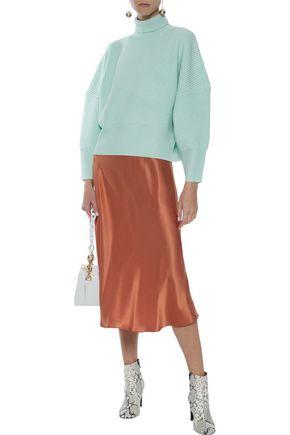 PAPER London Celilia ribbed wool turtleneck sweater