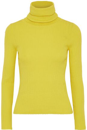 SIMON MILLER Ribbed-knit turtleneck sweater