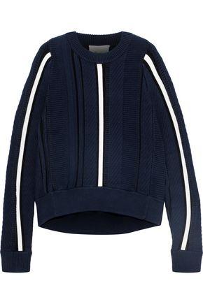 3.1 PHILLIP LIM Striped cotton-blend sweater