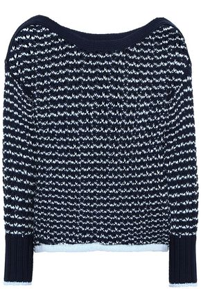 RAG & BONE Daniela two-tone open-knit sweater