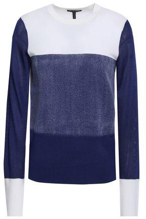 RAG & BONE Marissa color-block brushed merino wool sweater