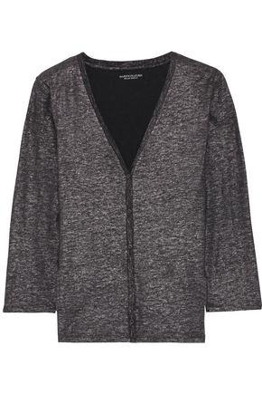 MAJESTIC FILATURES Metallic linen-blend cardigan