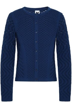 M MISSONI Pointelle-knit cardigan