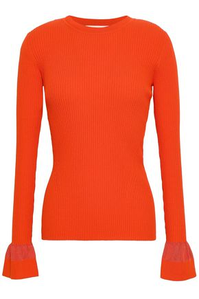 DIANE VON FURSTENBERG Stretch-cotton sweater