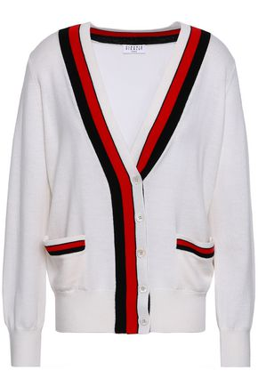 CLAUDIE PIERLOT Macedo striped wool cardigan