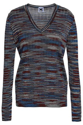 M MISSONI Ribbed-knit sweater