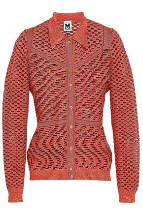 M MISSONI Metallic open-knit cardigan
