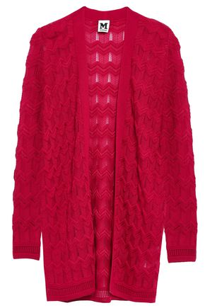 M MISSONI Crochet-knit wool-blend cardigan