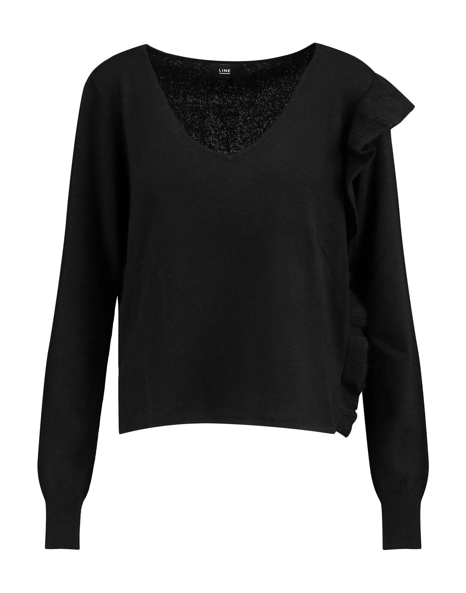 Line Cashmere Blend In Black