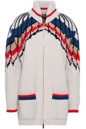 STELLA McCARTNEY Intarsia wool cardigan