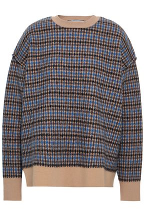 STELLA McCARTNEY Wool-jacquard sweater 542c68e42a9a9