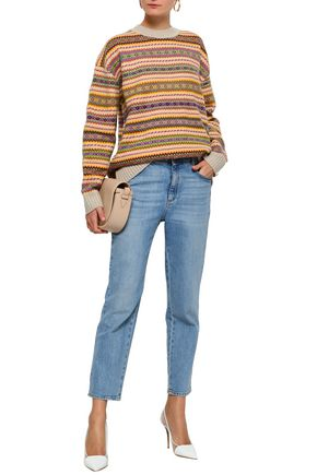 STELLA McCARTNEY Wool-jacquard sweater